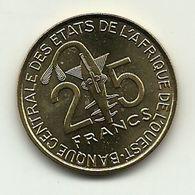 2008 - West Africa 25 Francs, - Monete