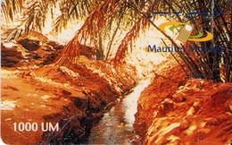 TARJETA TELEFONICA DE MAURITANIA (002). - Mauritanië