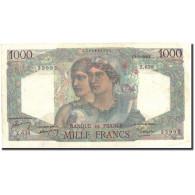 France, 1000 Francs, 1 000 F 1945-1950 ''Minerve Et Hercule'', 1950, 1950-03-02 - 1871-1952 Anciens Francs Circulés Au XXème