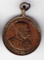 1902 Spain Austro-Hungarian Society Franz Joseph Medal - Royaux/De Noblesse