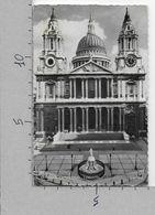 CARTOLINA VG REGNO UNITO - LONDON - St. Paul's Cathedral - 9 X 14 - ANN. 1958 - St. Paul's Cathedral