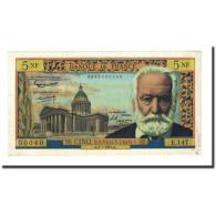 France, 5 Nouveaux Francs, 1965-07-01, KM:141a, SUP+, Fayette:56.19 - 5 NF 1959-1965 ''Victor Hugo''