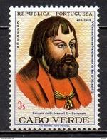 Cap-Vert - 1969 - Yvert N° 360 ** - Roi D. Emmanuel I - Isola Di Capo Verde