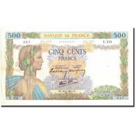 France, 500 Francs, 500 F 1940-1944 ''La Paix'', 1940, 1940-06-20, KM:95a, TTB+ - 1871-1952 Gedurende De XXste In Omloop