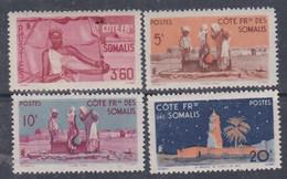 Cote Des Somalis N° 275 + 282 XX : Série Courante : 3 F. 60   Et 25 F.  Sans Charnière, TB - Französich-Somaliküste (1894-1967)