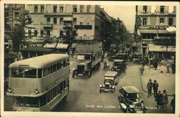 BERLIN 1931; Unter Den Linden Ecke Friedrichstr., Bus, Auto, Fahrad - Alemania