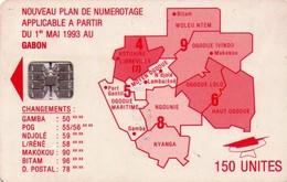 TARJETA TELEFONICA DE GABON. (004) - Gabon
