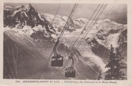 France - Chamonix, Mont Blanc - Teleferique - Railway Cable - Ouvrages D'Art