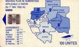 TARJETA TELEFONICA DE GABON. (005) - Gabon