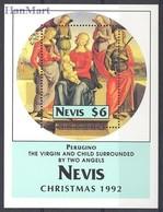 Nevis 1992 Mi Bl 54 MNH ( ZS2 NVSbl54 ) - Christmas