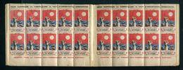 Carnet De 1927  - Tuberculose - Antituberculeux - N° 27-A*couverture 2 -pub GIBBS -fly-tox Et Rolland - Blocs & Carnets