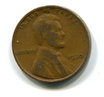 1930  USA 1c Wheat Penny Coin - Bondsuitgaven