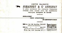 BUVARD  JOHANNOT ET CIE ANNONAY - Blotters