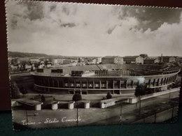 Cartolina Torino Stadio Comunale  Pubblicità Campari  Viaggiata 1950 - Stadiums & Sporting Infrastructures
