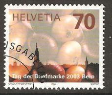 Zu 1103 / Mi 1859 / YT 1784 Journée Du Timbre 2003 Obl. 1er Jour - Switzerland