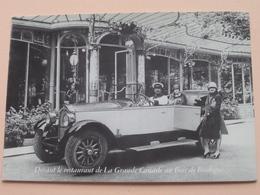 BUICK 6 Cylindres Type 17 HP Torpédo ( Devant Restaurant De La Grande Cascade Au Bois De Boulogne ) Anno 19?? ! - Voitures De Tourisme
