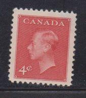 CANADA Scott # 292 Mint Part OG - KGVI Definitive - 1937-1952 Règne De George VI