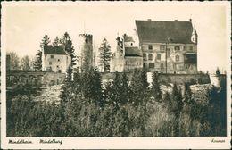 AK Mindelheim, Mindelburg, O 1940, Grünliche Rückseite Nur Im Scan (24347) - Mindelheim