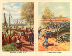 260118A - MILITARIA GUERRE Prime D'engagement Troupes SAPEURS PONTONNIERS PASSAGE DU RHIN Pont - Libri, Riviste & Cataloghi