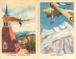 260118A - MILITARIA GUERRE Prime D'engagement AVIATION Forces Aériennes De Terre AVION BREGUET Précurseur LILIENTHAL - Books, Magazines  & Catalogs