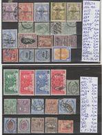 TIMBRES LOT OBLITEREES DE MALTE Nr VOIR SUR PAPIER AVEC TIMBRES COTE 149.45€ - Malta