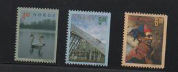 LOT 276  - NORVEGE     N° 1264/1266 **  - CYGNE - CATHEDRALE - LAPON  - Cote  5.25  € - Swans