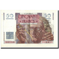 France, 50 Francs, 50 F 1946-1951 ''Le Verrier'', 1946, 1946-05-02, KM:127a - 1871-1952 Circulated During XXth