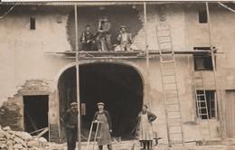 SERCOEUR : (88) RARE CARTE PHOTO Remise En état D Ela Maison WILLAUME 78 Rue Du Village à Sercoeur - France