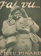 Militaria Revue J'ai Vu.... N°196 Du 15 Février 1919 Le Dieu Pinard Sculté Dans Un Bloc De Craie Sur Le Front D'un Poilu - Libri