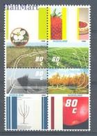 Netherlands 1998 Mi 1644-1647 MNH ( ZE3 NTHvie1644-1647 ) - Obst & Früchte