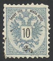 Austria, Offices In Turkey, 10 S. 1883, Sc # 11, Mi # 11A, Used, - Levante-Marken