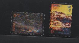 LOT 276  - NORVEGE     N°   1302/1303 **  -  EXPOSITIONS UNIVERSELLES  - Cote  4  € - 2000 – Hannover (Duitsland)