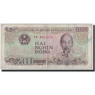 Billet, Viet Nam, 2000 Dông, 1998, KM:107a, TB - Vietnam