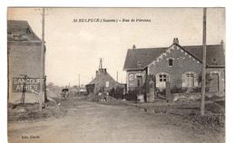 80 SOMME - SAINT SULPICE Rue De Péronne (voir Descriptif) - France