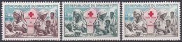 Dahomey Benin 1962 Organisationen Rotes Kreuz Red Cross Krankenschwestern Nurses Medizin, Aus Mi. 196-199 ** - Benin – Dahomey (1960-...)