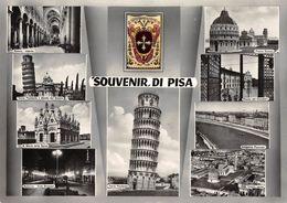 """415 - """"SOUVENIR DI PISA""""  -  CART.  ORIGINALE  - NON SPEDITA - Pisa"""