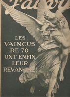 Militaria Revue J'ai Vu.... N°200 Du 15 Avril 1919 Les Vaincus De 70 Ont Enfin Leurs Revanche! - Libri