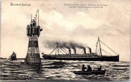 Allemagne - BREME - BREMERHAVEN - Schnelldampfer K.W Der Grosse - Bremerhaven