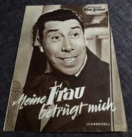 """Altes IFB-Filmprogramm - FERNANDEL In """"Meine Frau Betrügt Mich (CARNAVAL)"""" Mit Jaqueline Pagnol ... - 180364 - Magazines"""