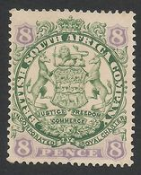 Rhodesia, British South Africa Company, 8 P, 1896, Sc # 32, Mi # 31I, MH. - Great Britain (former Colonies & Protectorates)