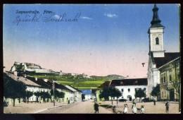 SZEPESVÁRALJA 1919. Fötér, Régi Képeslap             ## - Hongrie