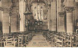 MUSSON : Intérieur De L'Eglise - CPA PEU COURANTE - Cachet De La Poste 1928 - Musson