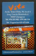2018. CALENDARIO ELECTRICIDAD E ILUMINACIÓN. - Calendarios