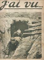Militaria Revue J'ai Vu.... N°13 Du 11 Février 1915 Les Allemands Dans Le Fond De Leurs Terriers - Libri