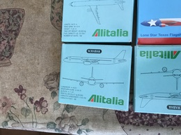 SCHABAK SCALA 1:600 ALITALIA AIRBUS A321 - Bijoux & Horlogerie