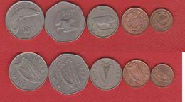 Irlande  / Lot De 5 Monnaies - Ireland
