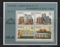 LOT 276  - NORVEGE BF   N° 6 **  - JOURNEE DU TIMBRE    - Cote 13  € - Stamp's Day