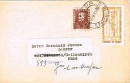 27259. Postal LAPA , Sao Paulo (Brasil) 1963, Iglesia S. Paulo To Germany - Brasil