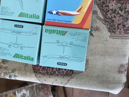 SCHABAK SCALA 1:600 ALITALIA AIRBUS A321 - Jewels & Clocks
