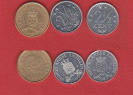 Antilles Néerlandaises  / Lot De 3 Monnaies - [ 4] Colonies